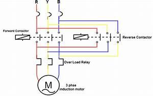 Forward Reverse Starter Diagram