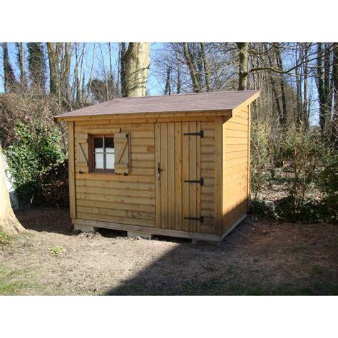 Plan Abri De Jardin 1 Pente by Cabane En Bois Une Pente