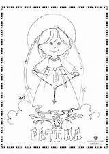 Coloring Fatima Lady Rosary Pages Catholic Drawing Draw Sun Religious Miracle Printable Holy Mary Getdrawings Saints Getcolorings sketch template
