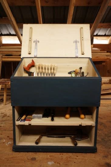 large dutch tool chest plans design  year  mud