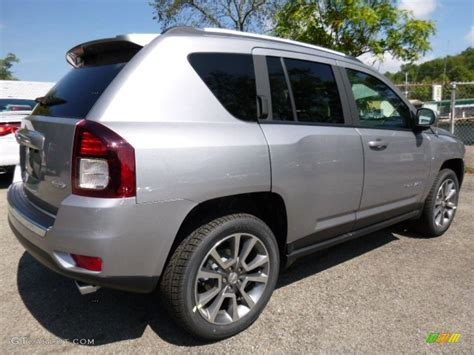 jeep silver 2016 2016 billet silver metallic jeep compass high altitude 4x4