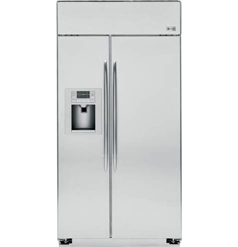 ge profile series  built  side  side refrigerator psbysxss ge appliances