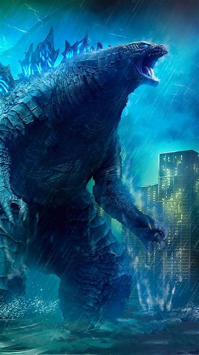 Godzilla 4k Monsters King Wallpapers Iphone Parede