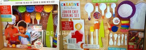 Creative Kitchen Junior Chef 35 Piece Cooking Set (Item