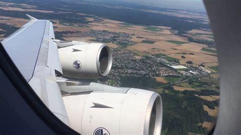 Air France AF0178 Airbus A380 take off Paris CDG - Mexico ...