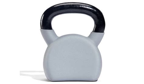 health rubber iron cast kettlebell 16kg argos