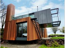 Grand Designs Shipping Container Home by Patrick Bradley