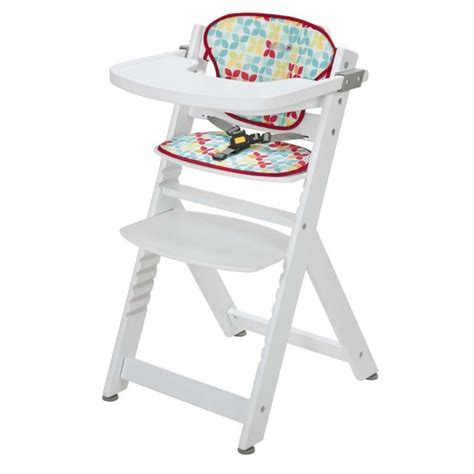 chaise haute safety 1st safety 1st chaise totem coussin playtime blanc blanc