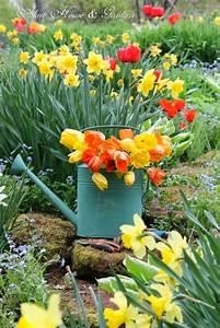 Tulpen Im Garten : tulpen l uten den fr hling ein 50 deko ideen f r drinnen ~ A.2002-acura-tl-radio.info Haus und Dekorationen