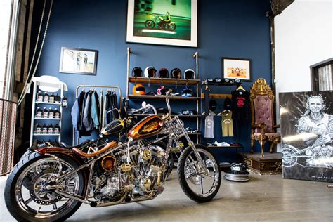 custom motorcycles  indian larrys    york