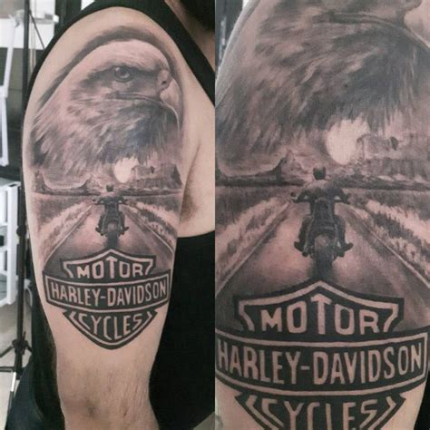 309 Best Harley Tattoos Images On Pinterest  Tattoos For