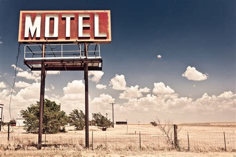 Photo Wallpaper Route 66 Desert Landscapes Wall Murals Motel Sign On Route 66 Wall Mural Photo Wallpaper