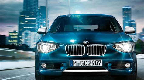 Bmw Series Blue Cars Hatchback Wallpaper Allwallpaper