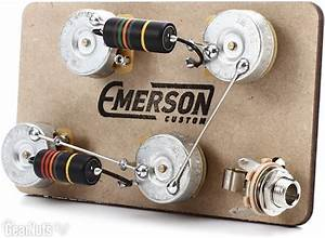 Emerson Custom Prewired Kit For Gibson Les Paul Guitars