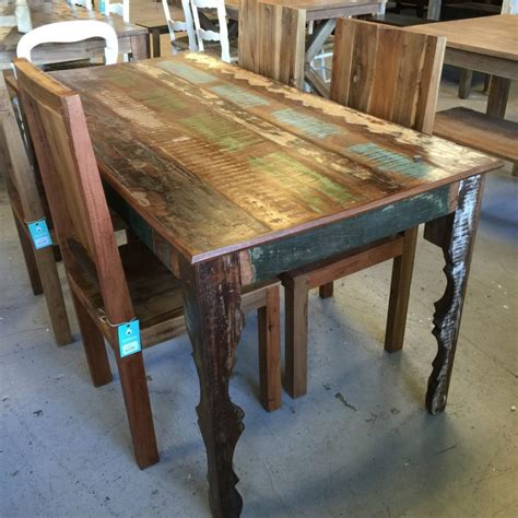 reclaimed dining table top distressed dining table french country white distressed