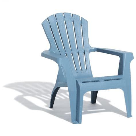 gifi chaise de jardin fauteuil de jardin relax empilable bleu orage table
