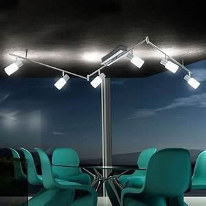Esszimmer Lampe Led : beleuchtung deckenleuchte led 30 watt chrom deckenlampe esszimmer lampe leuchte ebay ~ Markanthonyermac.com Haus und Dekorationen