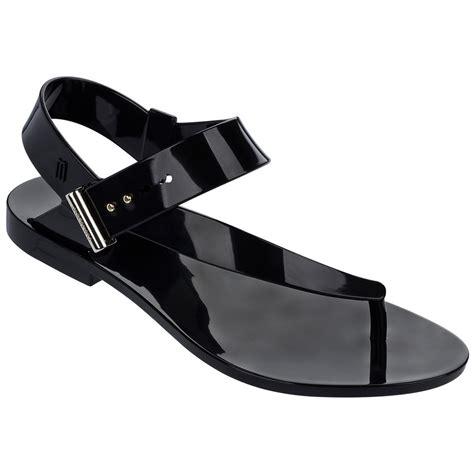 sandals melissa charlotte jason wu ad black brand melissa