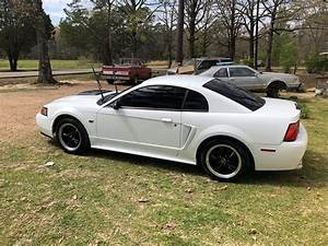 4th generation white 2000 Ford Mustang GT manual For Sale - MustangCarPlace