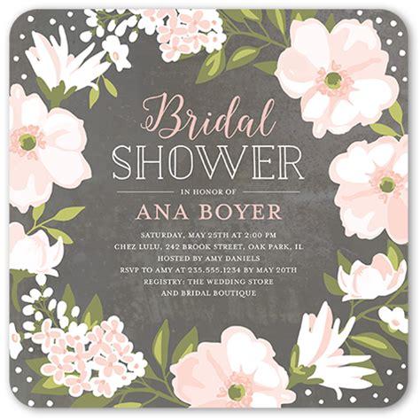 bridal shower invitations detailed checklist
