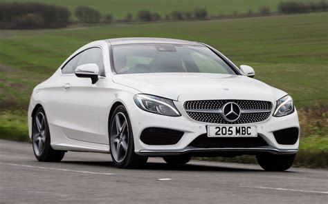 Mercedes C Class Coupe Hd Picture by 2015 Mercedes C Class Coupe Amg Line Uk