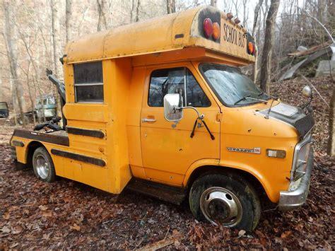 1984 Gmc School Bus Wrecker