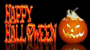 Happy Halloween Greeting With Scary Sound Effects