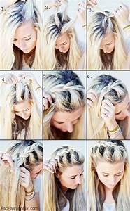 One Sided French Braid Hairstyle Tutorial Fab Fashion Fix