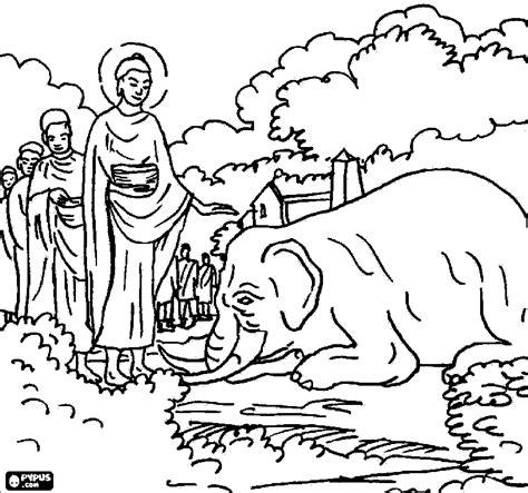 150+ Buddha Elephant Drawing