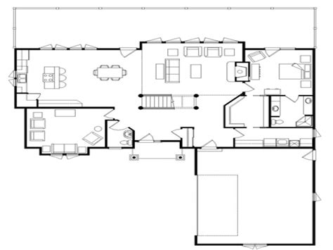 house plans open floor log cabin flooring ideas log home open floor plan open