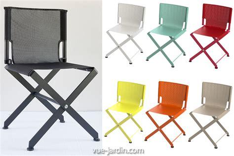 chaise de jardin pliante aluminium impressionnant chaise de jardin pliante aluminium 1