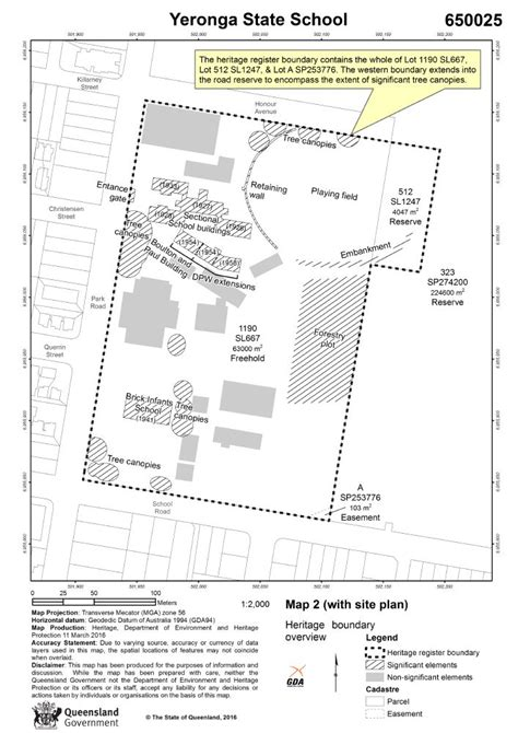yeronga state school environment land  water queensland government