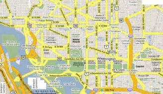 Washington DC Tourist Attractions Map