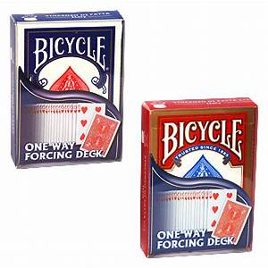 Force, Deck, -, Assorted, -, Rot, -, Bicycle, Forcierspiel, -, Forcing, Cards