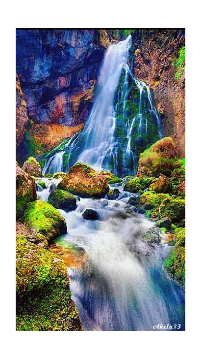 Waterfalls Sublime Nature Scenery Waterfall Google Paysage