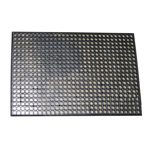rubber flooring home depot fanmats titan tile black in x in rubber tile flooring