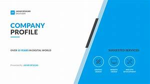 company profile keynote template by jafardesigns With information technology company profile template