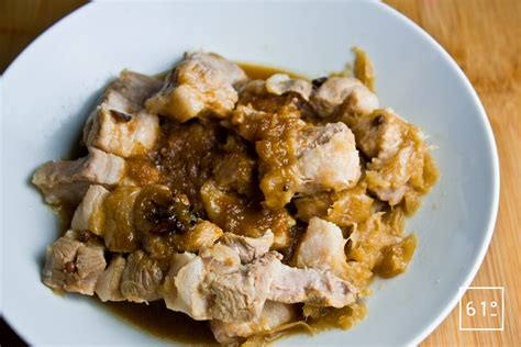 recette cuisine sous vide adobo de porc sous vide recette 61 degrés