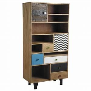 Meuble En Manguier : meuble biblioth que en manguier ncm2790 aubry gaspard ~ Teatrodelosmanantiales.com Idées de Décoration