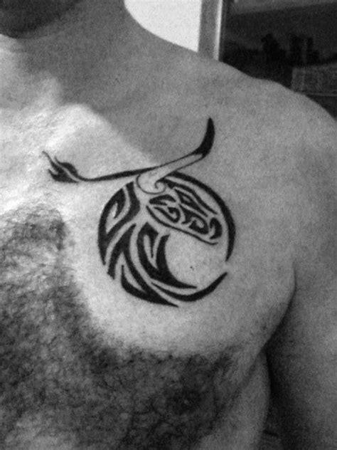 40 Tribal Bull Tattoo Designs For Men - Powerful Ink Ideas