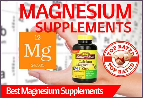 magnesium supplements compare magnesium supplements