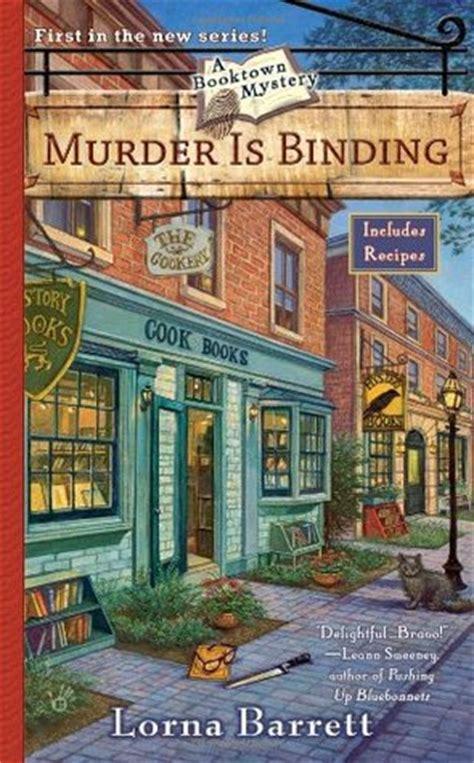 murder  binding  booktown mystery