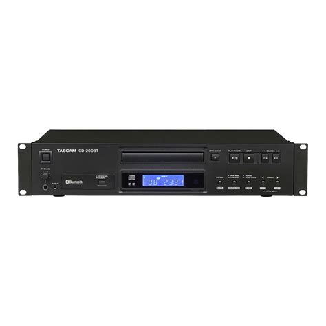 bluetooth cd player tascam cd 200bt rack mount cd player with bluetooth at
