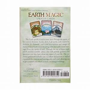 Magic Oracle Cards Earth Magic Read Fate Tarot 48 Cards Deck Card Party Games 9781401925352