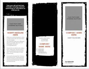 Word brochure template brochure template word for Template for brochure in word