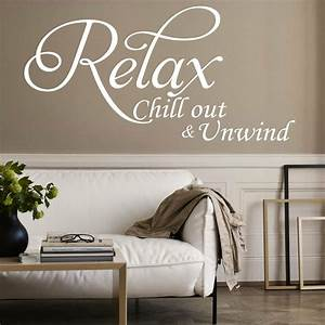 LARGE Relax Vin... Large Vinyl Wall Quotes