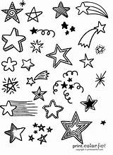 Stars Lots Coloring Fun sketch template