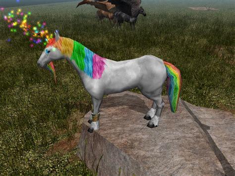 pegasus unicorns horses horse unique nightmares updated ambient fix diffuse creatures neverwinter neverwintervault