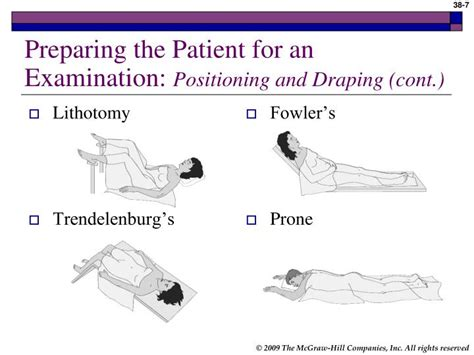 Positioning And Draping - ppt purpose of general physical examination powerpoint