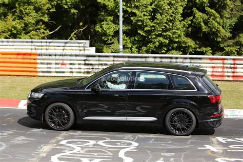 2016 Audi Sq7 Spied Inside And Out, Shows Off On The Test